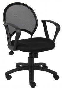 sitwell ovation mid back breathable mesh office chair