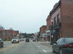 Our little downtown -- Mosinee, WI.