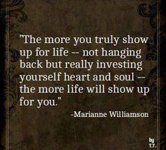 Show up...:)