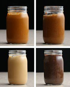 Each recipe makes 16 ounces