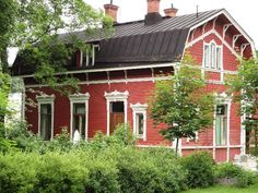 Old railway station in Rauma, Finland | Rauman Wanha Asema