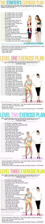 Trainingsplan #weightlosstips