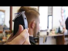 How To Cut A Traditional Side Part/Pompadour - YouTube