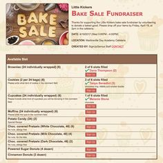 a bake sale is a fun and delicious way to raise funds for your group