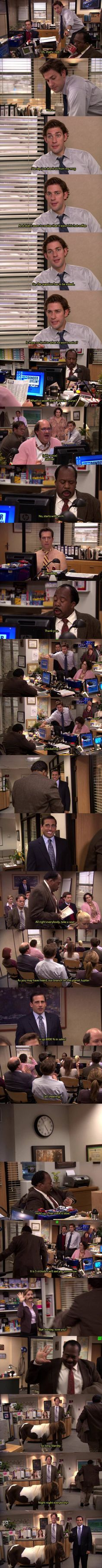 How oblivious can you be. Stanley-level oblivious.