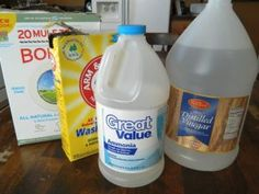Easy homemade cleaner recipes.