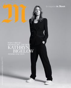Kathryn Bigelow by Brigitte Lacombe for M Le Monde 23 September 2017 Cover Brigitte Lacombe, Le Smoking, Female Directors, Magazine, Portrait Photography, Street Style, Photoshoot, Cover, Backstage