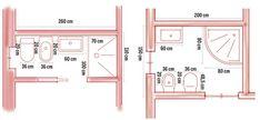 Dimensioni minime bagno | Come gestire al meglio lo spazio - Rifare Casa