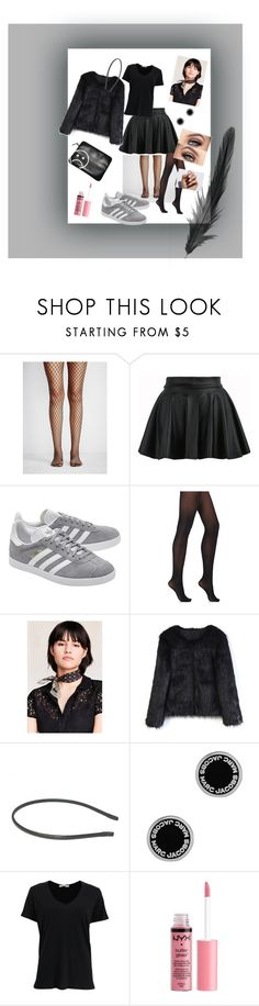 """""""Untitled #35"""" by stinalinneea on Polyvore featuring Free People, adidas Originals, Wolford, Urban Outfitters, Chicwish, Marc Jacobs, rag & bone, Charlotte Russe and SoGloss"""