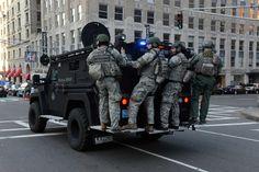 Boston SWAT team arrives.