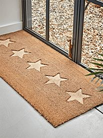 NEW Embossed Stars Doormat - Double - Shoe Storage & Hallway Cupboards - Storage Furniture - Storage Furniture & Solutions Boot Room Storage, Outdoor Shoe Storage, Shoe Storage Furniture, Hallway Shoe Storage, Arched Window Mirror, Door Knockers Unique, Outdoor Gifts, Wooden Stars, Selling Furniture