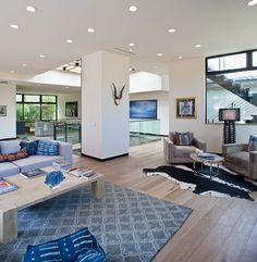 relatively modest facade unveiling sumptuous interiors bellino drive residence httpfreshome