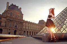 Soleil dans Paris, via Flickr.