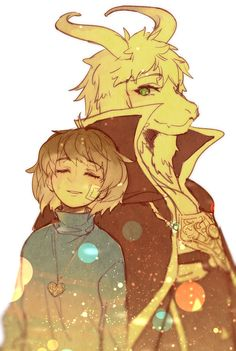 Holy freakin handsome Asriel Look at that cloak And his face Geez 50000000% better than Flowey