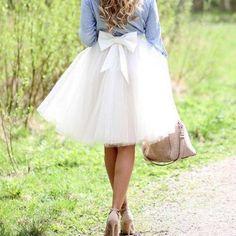 2015 Fashion Skirt,Tulle Skirt,Charming Women Skirt,Skirt with Bow,spring Skirt