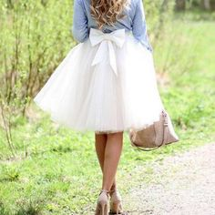 S-1204 Fashion Skirt,Tulle Skirt,Charming Women Skirt,Skirt with Bow,spring Skirt