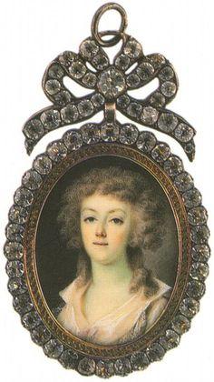 Графиня Екатерина Петровна Салтыкова, в зам. Шувалова (1743 - 1816)
