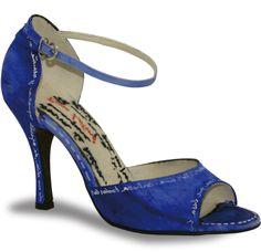 Mod. Malen deco-jeans by Rosso Latino #RossoLatino #dance #shoes #danceshoes Visit: www.rossolatino.com