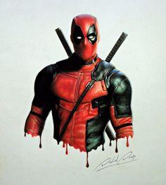 #Deadpool #Fan #Art. (Deadpool) By: Daviddiaspr. (THE * 5 * STÅR * ÅWARD * OF: * AW YEAH, IT'S MAJOR ÅWESOMENESS!!!™)[THANK U 4 PINNING!!!<·><]<©>ÅÅÅ+(OB4E)   https://s-media-cache-ak0.pinimg.com/564x/9e/12/8d/9e128de3be3330edc29cd9e02d99b346.jpg