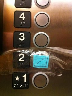 Seriously, if you can walk on your own and you use the elevator for one floor, I'm judging you.