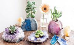 Pedras preciosas e cristais na decoração: confira dicas e saiba os significados de algumas pedras e veja qual combina mais com voc~e. De amor à saúde tem para todos os gostos.