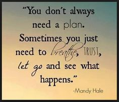 You don't always need PLAN......