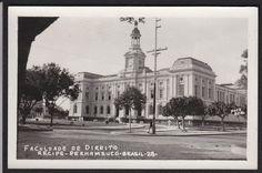 Brazil-Recife-Faculdade De Direito-Pernambuco-Vintage-Real Photo Postcard | eBay