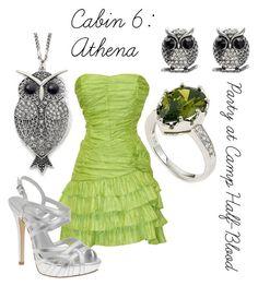 """Athena"" by ellalea ❤ liked on Polyvore featuring Amrita Singh, Decree, Fantasy Jewelry Box, ALDO and percy jackson"