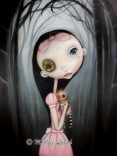 Heatherette by Michele Lynch Art, via Flickr