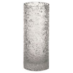 Chipped glass vase with a hand-applied finish.  Product: VaseConstruction Material: GlassColor: ...
