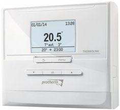 Protherm Thermolink P Komunikačný regulátor eBus  eBus programovateľný regulátor umožňuje nastaviť jeden týždenný program s možnosťou kombinácie až 7 rôznych časových úsekov s individuálne nastaviteľnou teplotou pre vykurovanie a aj pre ohrev teplej vody. Umožňuje ovládanie vykurovacieho systému v závislosti od izbovej teploty a od nastaveného vykurovacieho programu, prípadne aj v závislosti od vonkajšej teploty (ak je pripojený vonkajší snímač) s možnosťou automatickej optimalizácie vykuro... Menu, Menu Board Design