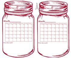 glenda's WORLD: Small Universal Calendars
