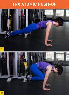 45 Insanely Effective TRX Exercises by Greatist.com Use your Gymboss to time your rest between sets or exercises.