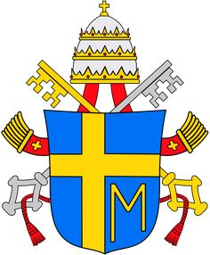 Coat of arms for Pope John Paul II (r. 1978-2005)