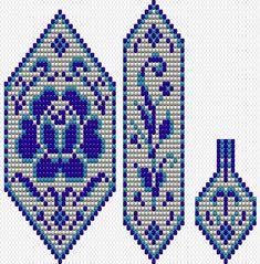 Brick Stitch Patterns, Bead Loom Patterns, Beaded Jewelry Patterns, Peyote Patterns, Beading Patterns, Seed Bead Flowers, Beaded Flowers, Beaded Embroidery, Cross Stitch Embroidery