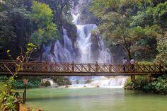 http://www.vietnamitasenmadrid.com/laos/cataratas-kuang-si.html  Cataratas Kuang Si en Luang Prabang