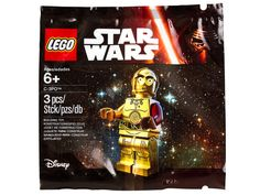 New LEGO Star Wars The Force Awakens C-3PO Minifigure Revealed