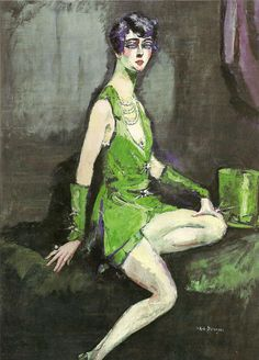 l'Ecuyère by Kees Van Dongen, 1920. @designerwallace