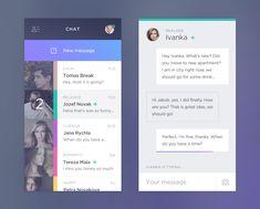Chat app by Jakub Antalík