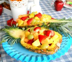 Echoes of Laughter: Easy Festive Fruit Salad