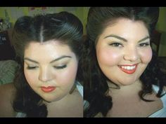 Playing Dress Up: 1940's Wartime Makeup and Hair