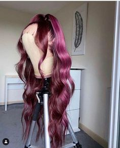 Wig Styles, Curly Hair Styles, Lace Front Wigs, Lace Wigs, Colored Wigs, Baddie Hairstyles, Lace Hair, Aesthetic Hair, Gorgeous Hair