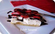 Eclair Squares - recipe | NoBiggie