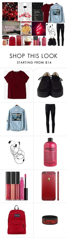 """""""Nothing Lasts Forever"""" by itsme-bibicha ❤ liked on Polyvore featuring Alasdair, Each X Other, Prada, philosophy, Laura Geller, JanSport and Halcyon Days"""