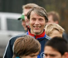 Mads Mikkelsen - I love when he shows his teeth.