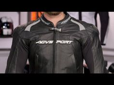 AGV Sport Photon Leather Jacket Review at RevZilla.com