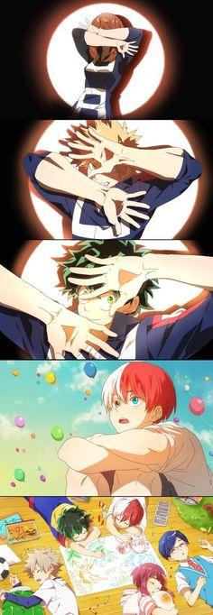Boku no Hero Academia x Free! || #Anime (Cross-Over) #mha