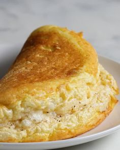 Super Fluffy Omelette Recipe by Tasty Breakfast Dishes, Breakfast Recipes, Breakfast Omelette, Healthy Omelette, Cheese Omelette, Breakfast Ideas, Easy Omelet, Breakfast Sausages, Breakfast Pancakes