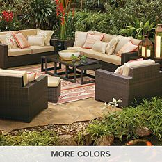 Palermo Seating in Bronze Finish