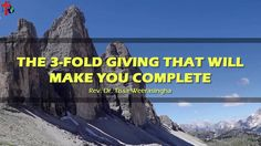 "Rev. Dr. Tissa Weerasingha teaches us that we must not be addicted to wealth.   Watch the full sermon ""The 3-fold giving that will make you complete"" here: https://www.youtube.com/watch?v=UkGiAmPcJGk#utm_sguid=171864,6276346c-83a7-99a3-3835-12ce59dcd656   #calvarychurchsrilanka‬ ‪#giving #wealth"